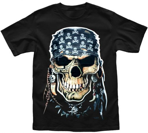 Playera Pirata Skull