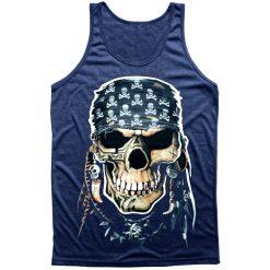 Tank top pirata skull