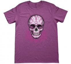 Playera Skull Pink