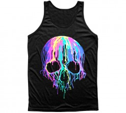 tank top melting skull