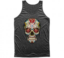 playera sugar skull