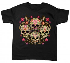 playera four skulls