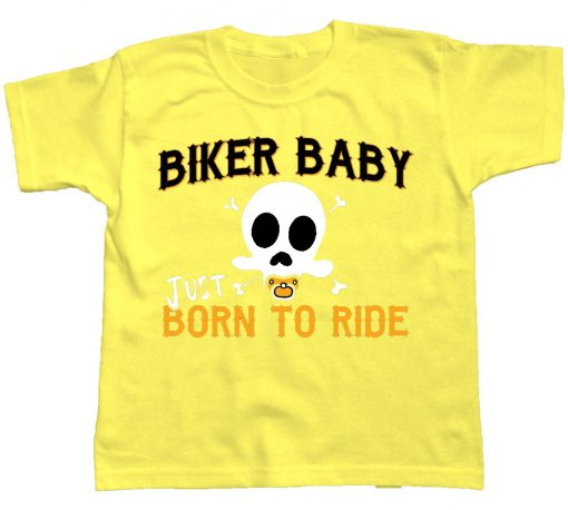 playera de bebe biker baby