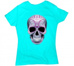 playera de dama candy skull