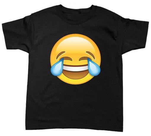 playera de niño emoji risa