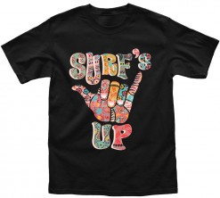 playera de hombre surfs up