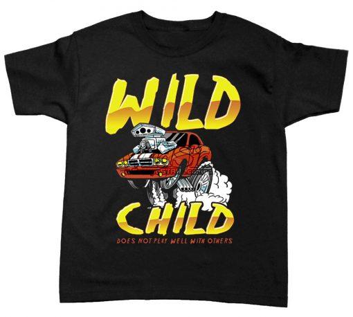 playera de bebe wild child